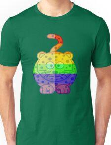 Love U Tees Funny Rainbow Animals Cheetah Cat LGBT Pride Week Swag, Unique Rainbow Gifts Unisex T-Shirt