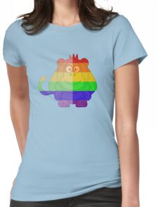 Love U Tees Funny Rainbow Animals monkey LGBT Pride Week Swag, Unique Rainbow Gifts Womens Fitted T-Shirt