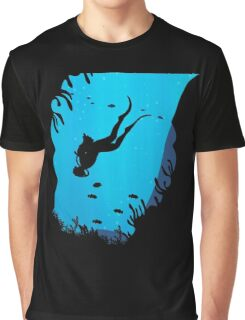 Scuba Diving T Shirt Graphic T-Shirt