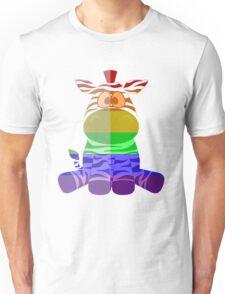 Love U Tees Funny Rainbow Animals zebra LGBT Pride Week Swag, Unique Rainbow Gifts Unisex T-Shirt