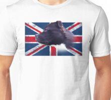 Staffbull Staffordshire Bullterrier UK grunge FLAG Unisex T-Shirt
