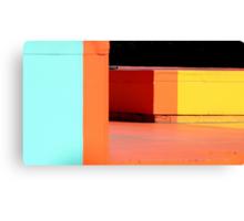 blocks of colour Canvas Print