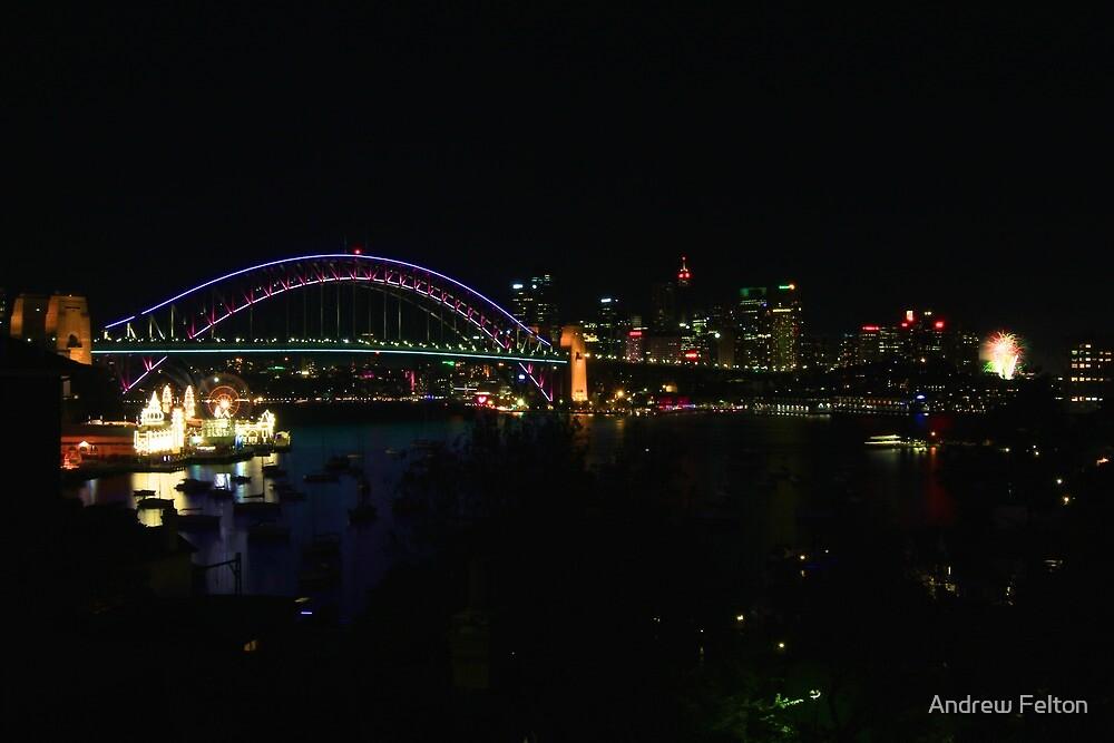 Sydney Night Vista by Andrew Felton