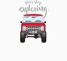Never Stop Exploring (red) Classic T-Shirt