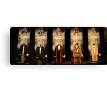 Who is the Doctor?  Costumes Canvas Print