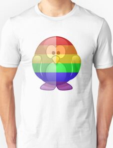 Love U Tees Funny Rainbow Animals Penguin LGBT Pride Week Swag, Unique Rainbow Gifts Unisex T-Shirt