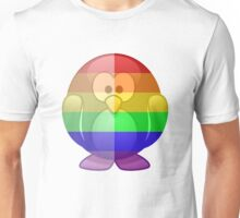 Love U Tees Funny Rainbow Animals Penguin LGBT Pride Week Swag, Unique Rainbow Gifts Unisex T-Shirt