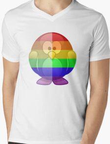 Love U Tees Funny Rainbow Animals Penguin LGBT Pride Week Swag, Unique Rainbow Gifts Mens V-Neck T-Shirt