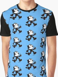 Stray Cat Strut Graphic T-Shirt