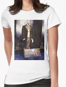 Who is the Doctor?  the 8th Doctor Costume Womens Fitted T-Shirt