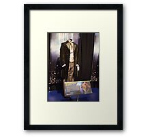 Who is the Doctor?  the 8th Doctor Costume Framed Print