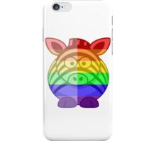 Love U Tees Funny Rainbow Animals Zebra LGBT Pride Week Swag, Unique Rainbow Gifts iPhone Case/Skin