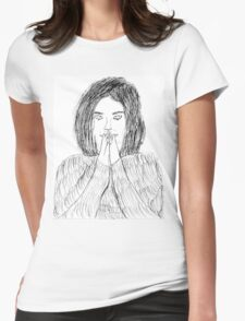 Bjork- Debut Womens Fitted T-Shirt
