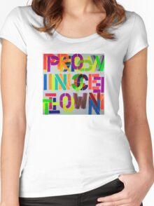 Provincetown Fun! • Dave Hay Women's Fitted Scoop T-Shirt