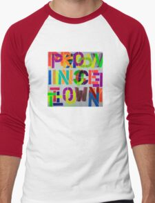 Provincetown Fun! • Dave Hay Men's Baseball ¾ T-Shirt