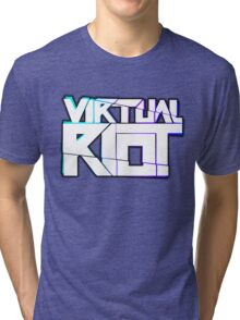 Virtual Riot Merch Tri-blend T-Shirt