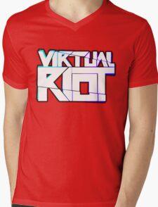 Virtual Riot Merch Mens V-Neck T-Shirt