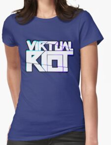 Virtual Riot Merch Womens Fitted T-Shirt