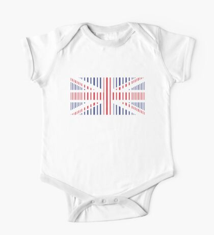 British Flag One Piece - Short Sleeve
