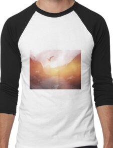 Landscape 04 Men's Baseball ¾ T-Shirt