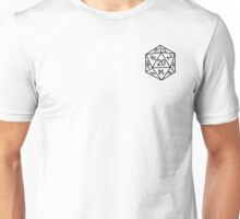 dnd/pathfinder d20 Unisex T-Shirt
