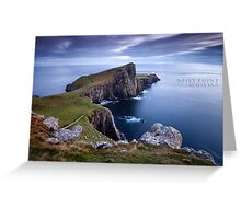 Neist Point, Scotland Greeting Card