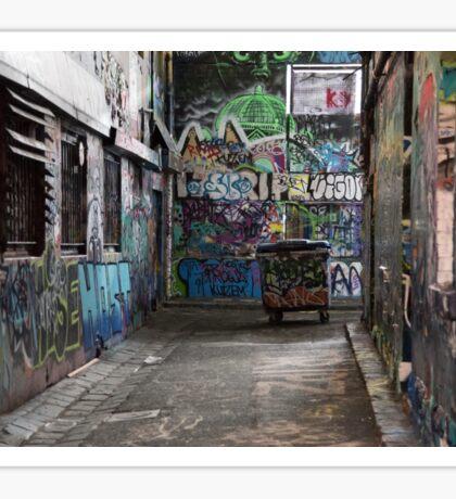 Rutledge Lane Melbourne Australia.  Sticker
