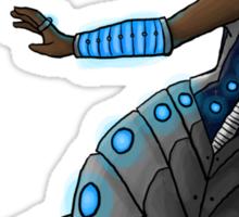 Electric Blue Naga Sticker