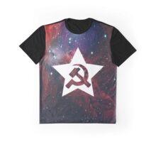 Space Communism Graphic T-Shirt