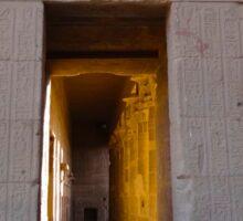 the Philae doorway Sticker