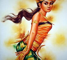 Traditional Dancer - A Girl by sastrod8