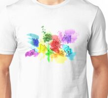 Abstract Cats Unisex T-Shirt