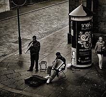 Street Musicians by Mike Crawford