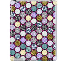 Filled Circles iPad Case/Skin