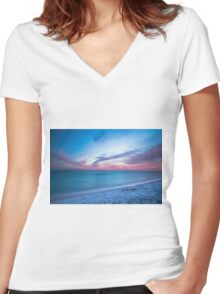 If By Sea Women's Fitted V-Neck T-Shirt