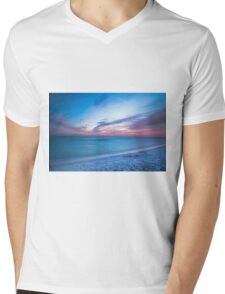 If By Sea Mens V-Neck T-Shirt