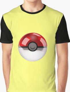 Poke Ball Pokemon Graphic T-Shirt