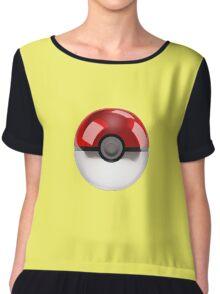 Poke Ball Pokemon Chiffon Top
