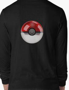 Poke Ball Pokemon Long Sleeve T-Shirt