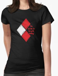 Known to be Vexing  Womens Fitted T-Shirt