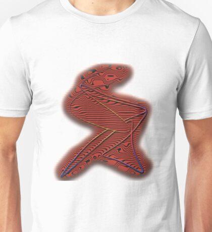 Drahtschraffur Unisex T-Shirt