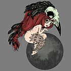 Lady Crow - red hair by milenaemme