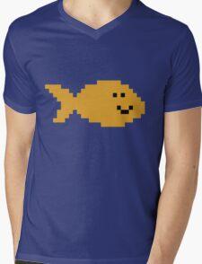 Unturned Fish Mens V-Neck T-Shirt