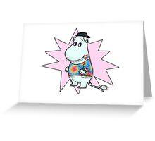 MoominPunk  Greeting Card