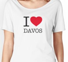 I ♥ DAVOS Women's Relaxed Fit T-Shirt