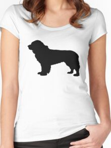 Newfoundland (Dog) Women's Fitted Scoop T-Shirt