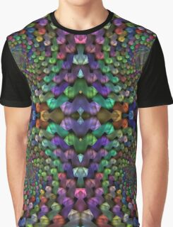 Psychedelic Baubles Graphic T-Shirt