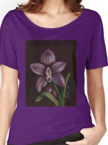 Purple Orchid Women's Relaxed Fit T-Shirt