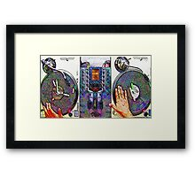 ON THE ONEs & TWOs Framed Print