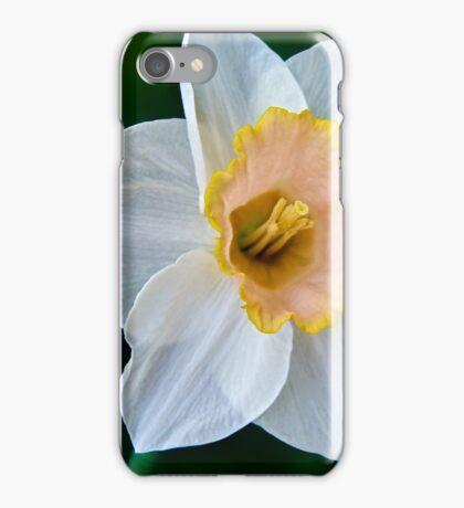 Salmon Daffodil iPhone Case/Skin